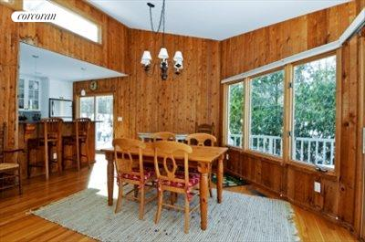 The Hamptons Real Estate | View 29 North Hollow Drive | dining area and sit-at counter