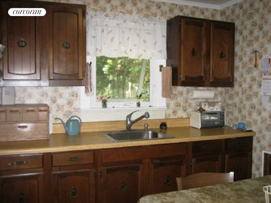 Kitchen with window