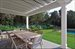 59 Gansett Lane, Dining Patio overlooks pool