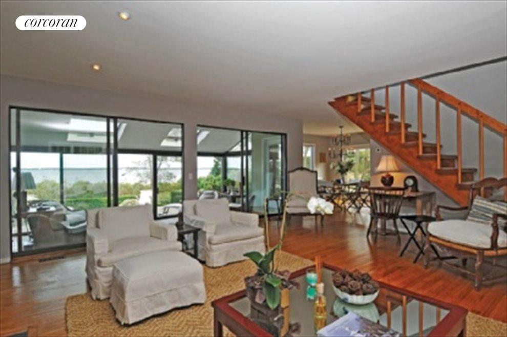 Living area with waterview