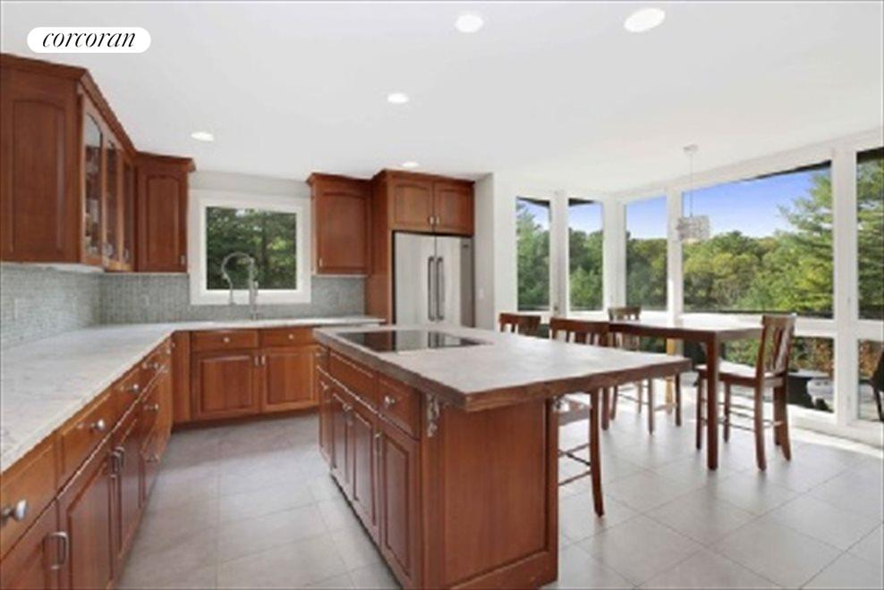 Kitchen with Views Over Property