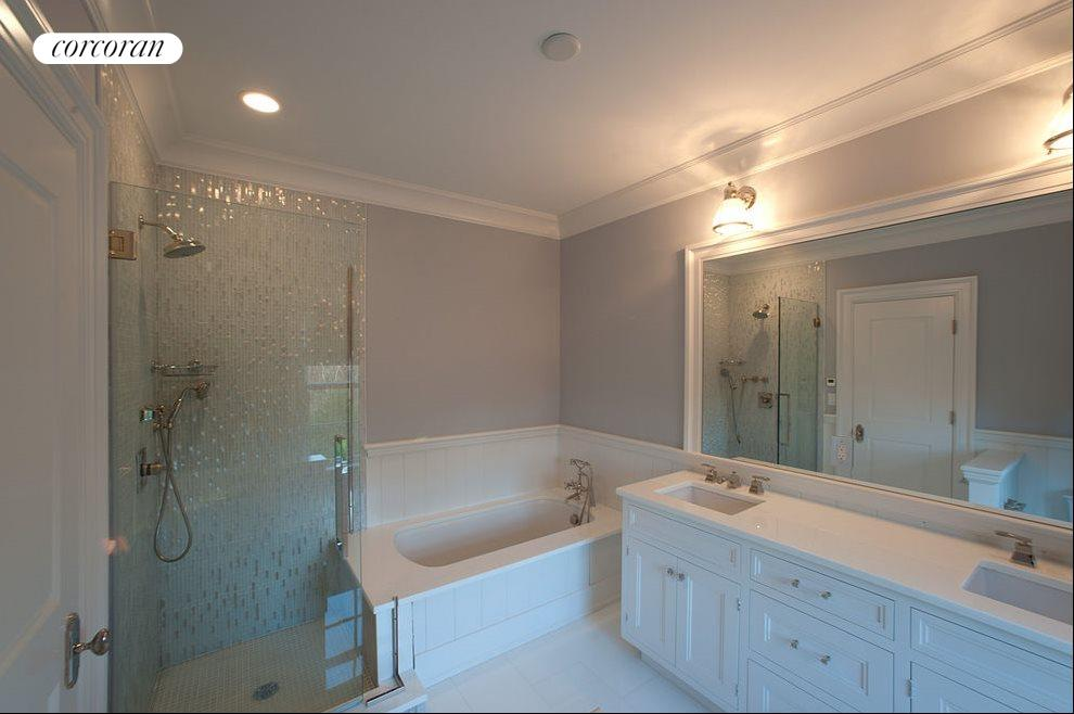 Immaculate bathrooms with modern details
