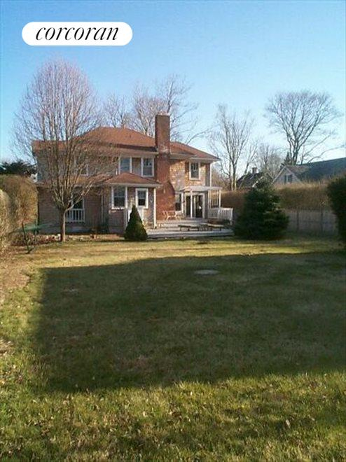 Property from Rear Hedge