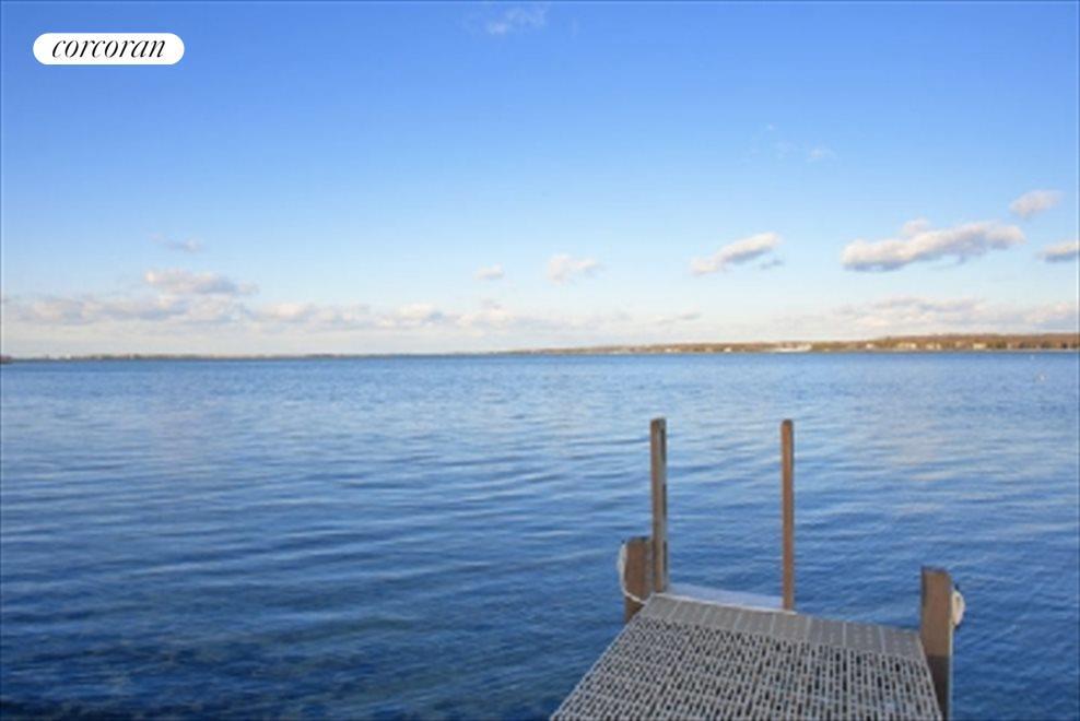 Dock on Three Mile Harbor