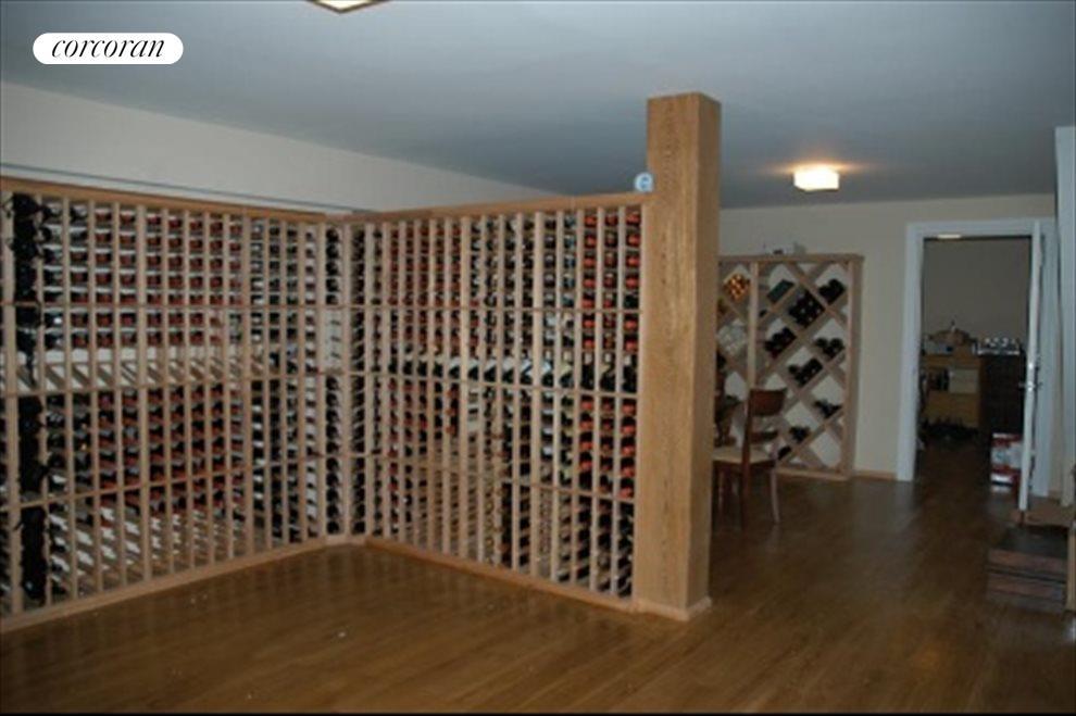 oversized wine cellar
