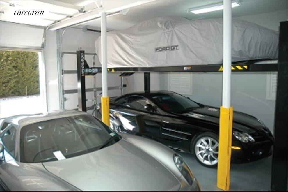 2 car garage with lift for 3rd car