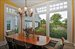 54 Ferry Road, Casual dining/breakfast area of kitchen overlooking whimsical herb garden