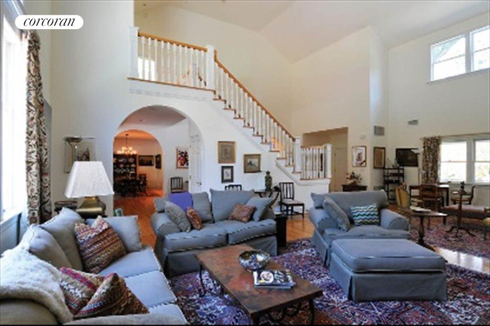 Double height great room