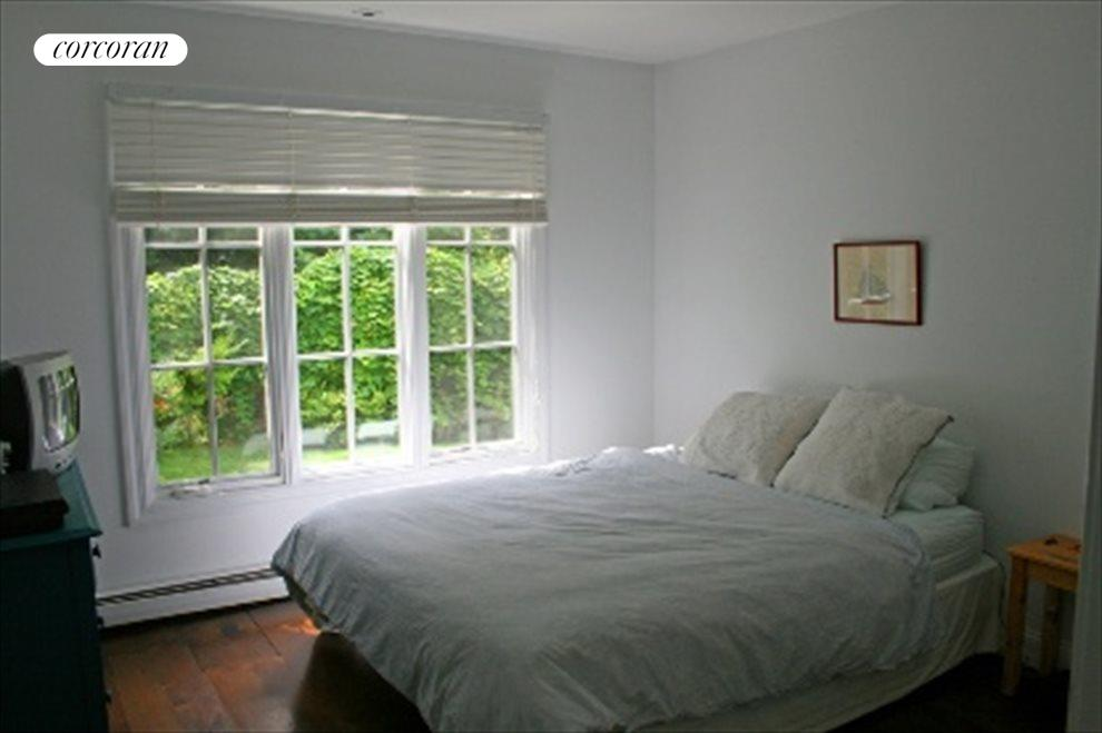 Bedroom with pretty outside view
