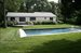 24 South Drive, Large back yard with heated gunite pool