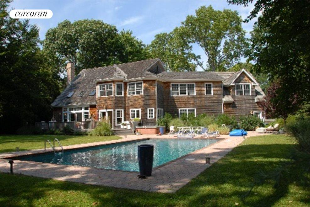 Rear of house with pool