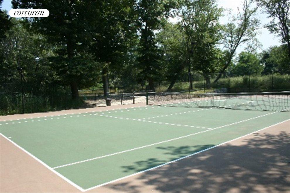 Residents only tennis courts