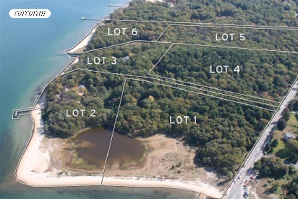 proposed subdivision aerial