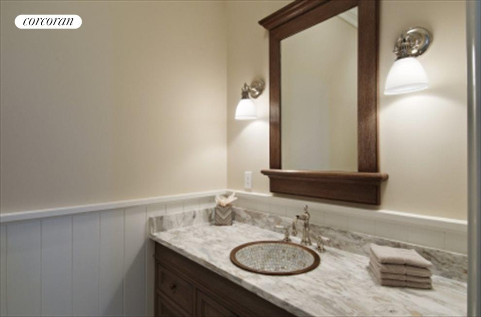 Ambrosia Marble in Powder Room