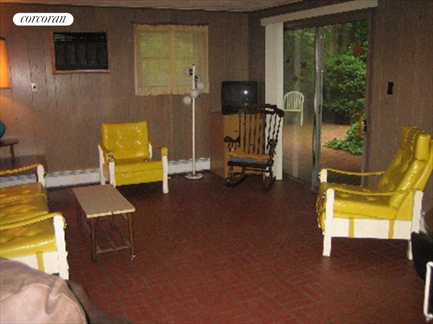 Lowel level living area