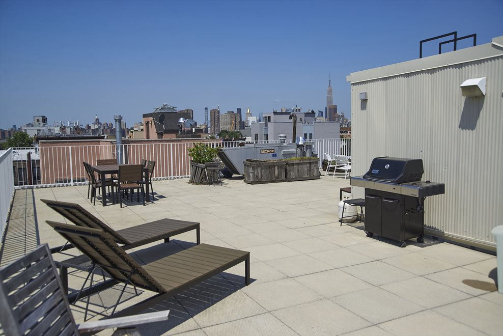 Expansive Rooftop Deck