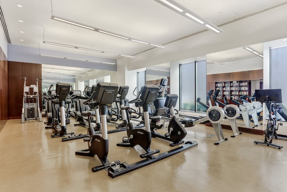 New York City Real Estate | View 30 West Street, #28B | Fitness Center