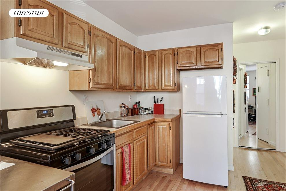 Rental unit kitchen