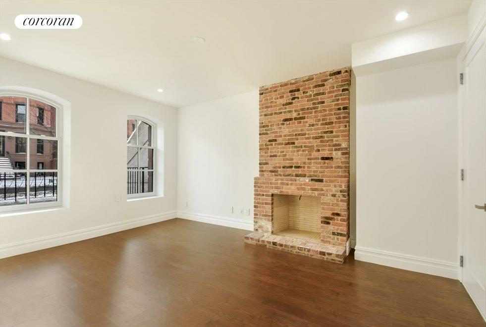 Master Bedroom En Suite With Working Fireplace