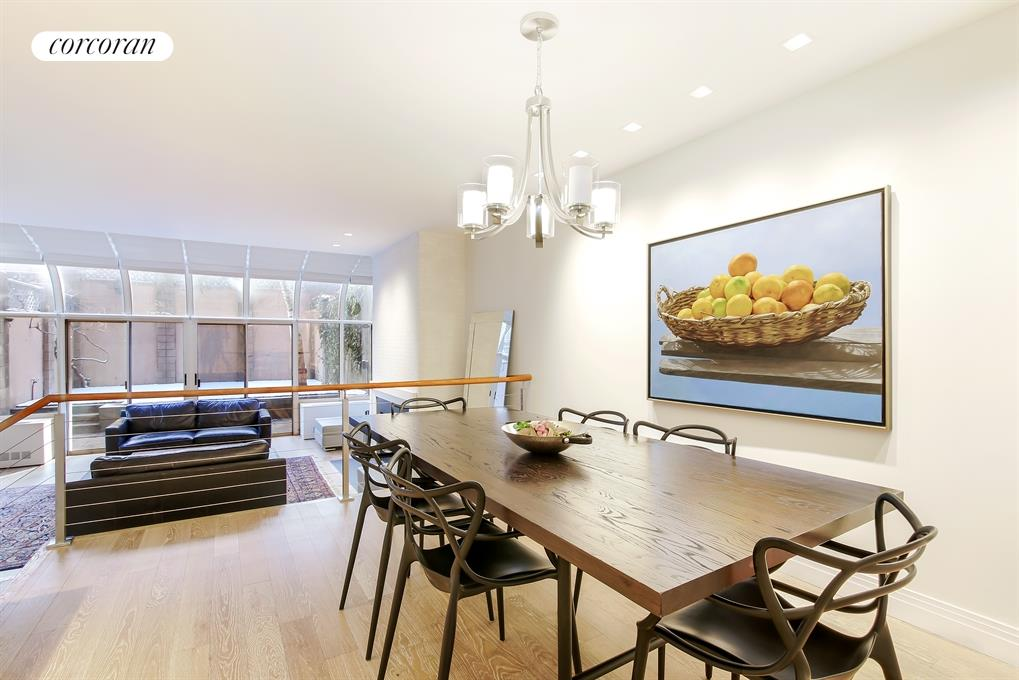 107 West 89th Street, GB, Spacious Step-Down Living Room w/ WB Fireplace