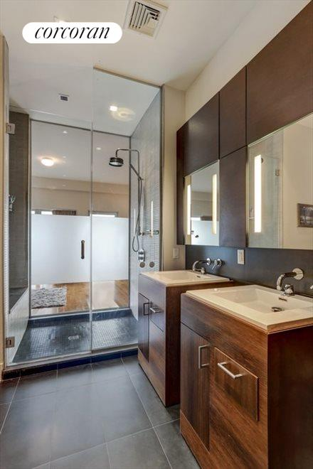 Master Bathroom with Shower Room