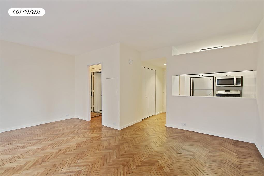150 West 56th Street, 3606, Oversized Living Room with Open Views