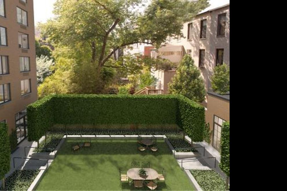 Landscaped Private Courtyard Garden