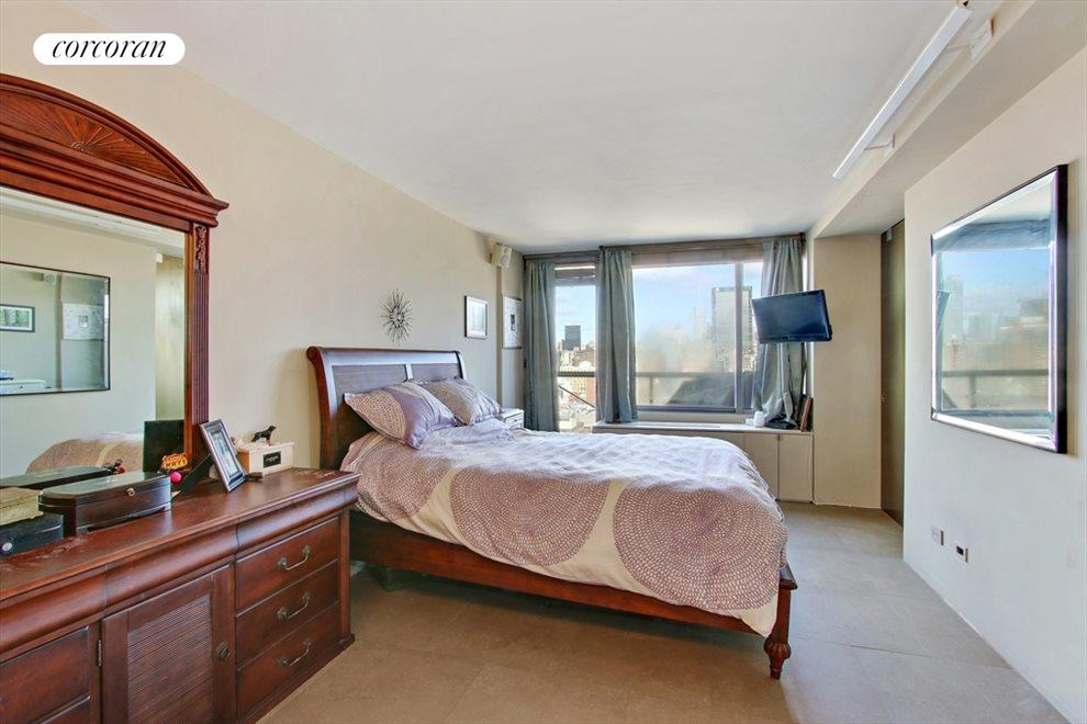 Large Master Bedroom with Balcony