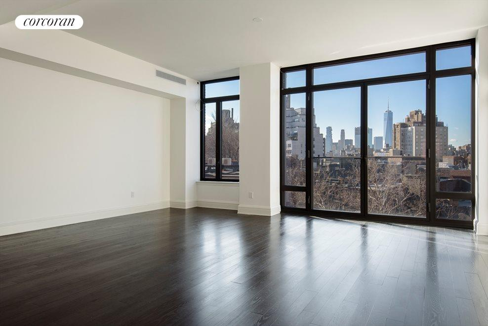 Living Room with View to Freedom Tower