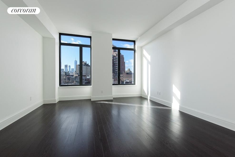 Master Bedroom with View to Freedom Tower