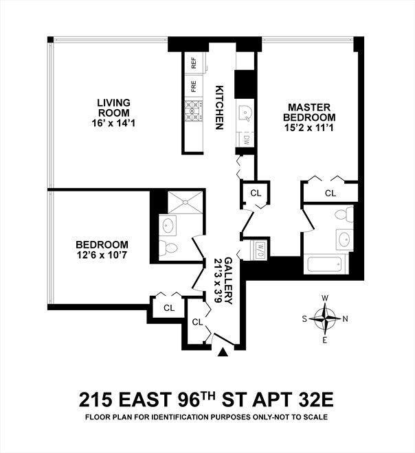 New York City Real Estate | View 215 East 96th Street, #32E | Floorplan