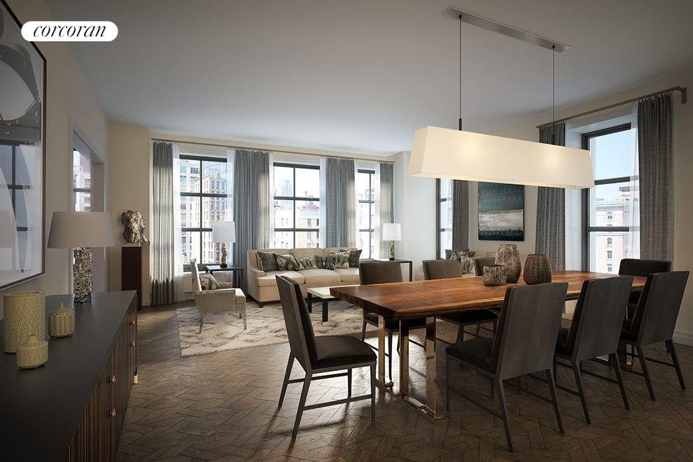 New York City Real Estate | View 207 West 79th Street, #9A | 4 Beds, 4 Baths