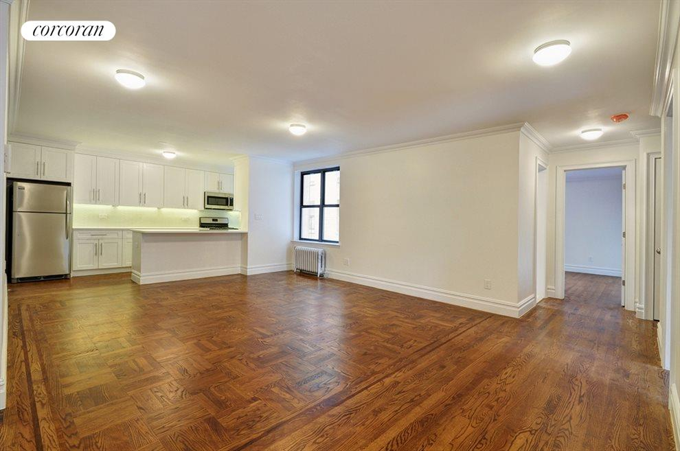 New York City Real Estate | View 148-09 Northern Boulevard, #6D | Kitchen / Living Room