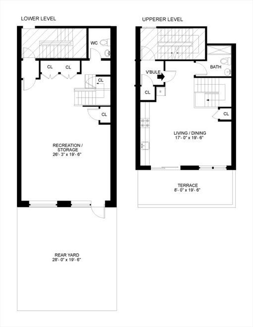 New York City Real Estate | View 622 Grand Avenue, #104 | Floorplan