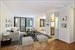 161 West 61st Street, 6C, Great Floor Plan! Living Room with Powder Room