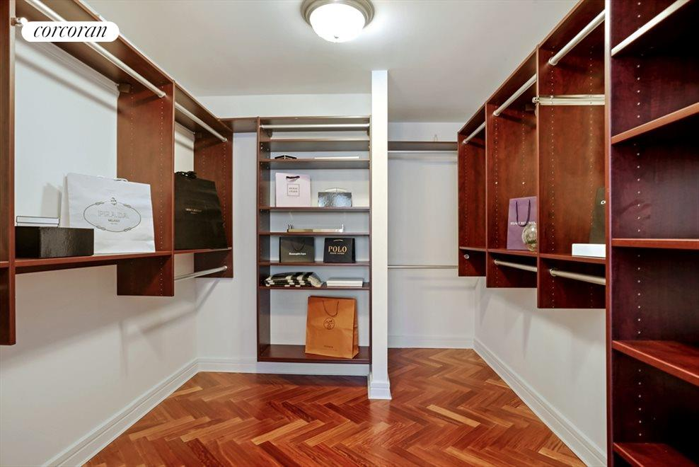 Walk In Closet - Master Bedroom