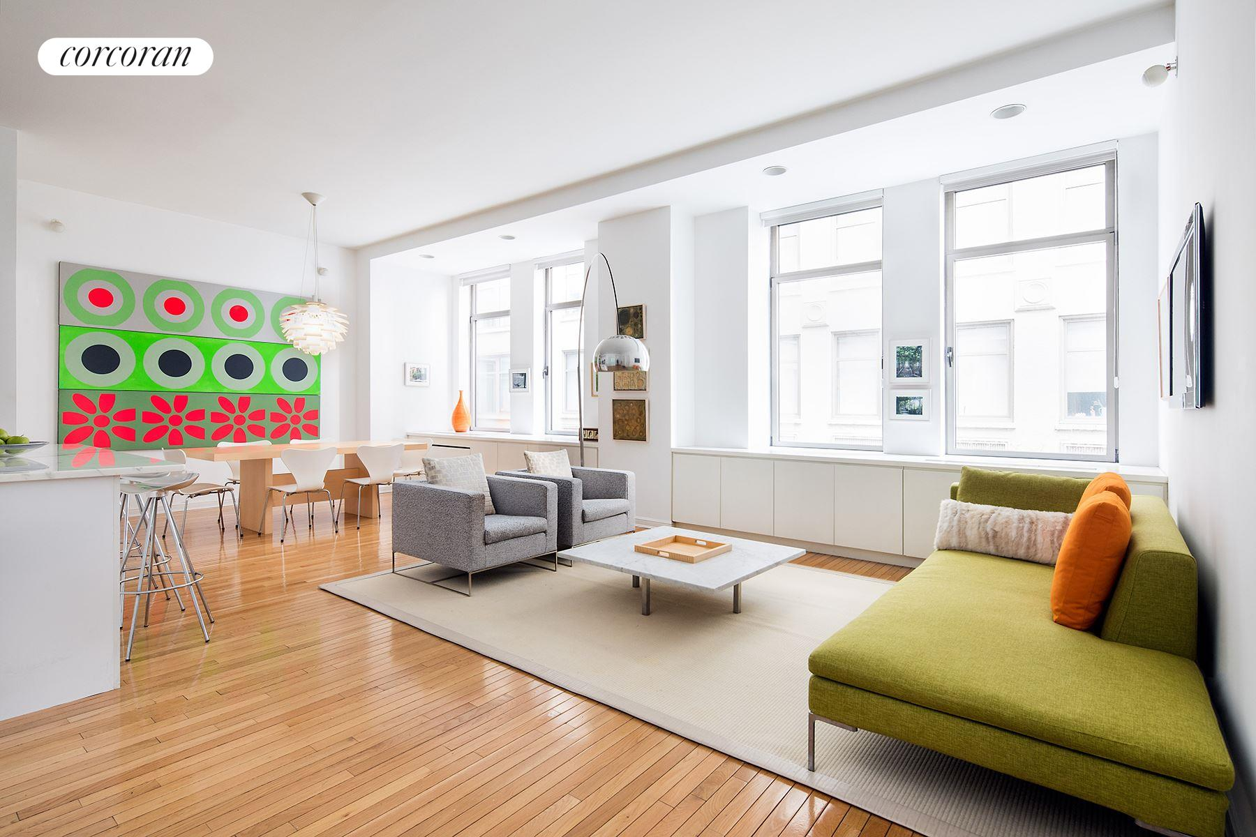 252 Seventh Avenue, 4C, Living Room