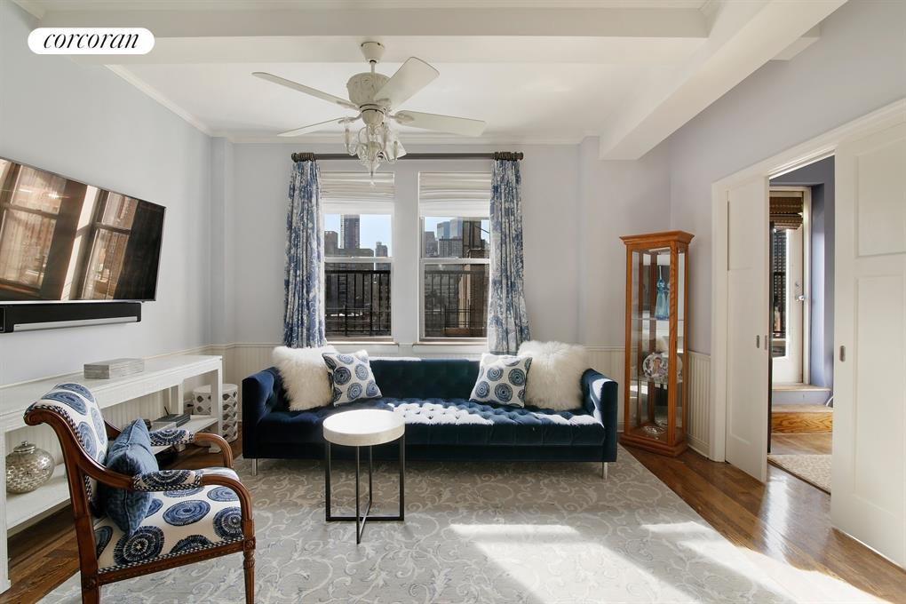 20 West 72nd Street, 1404, Living Room