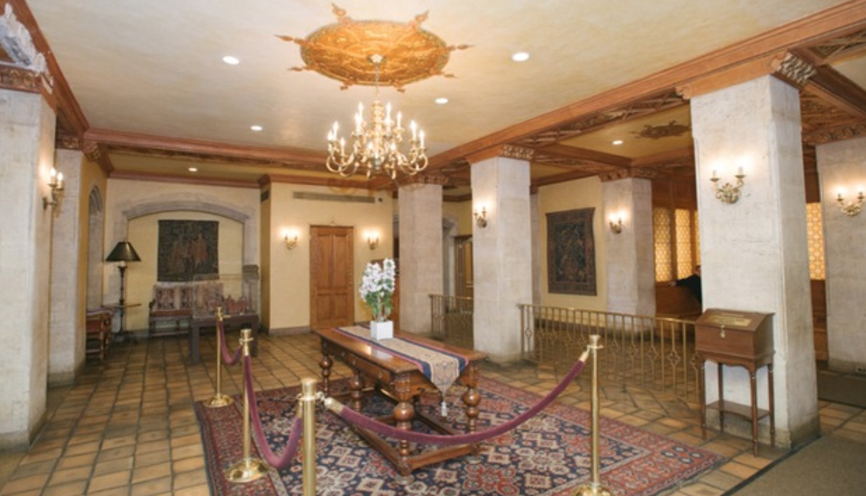 5 Tudor City Place, 831, Living Room with beautiful hardwoods & river views