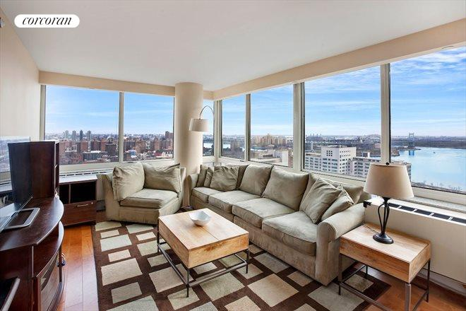 215 East 96th Street, 28C, Living Room