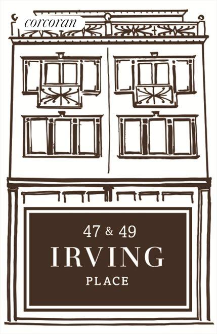 New York City Real Estate | View 47 Irving Place | 5 Beds, 4.5 Baths