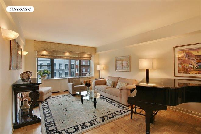 Corcoran 510 east 86th street apt 5c upper east side for Living room 86th street