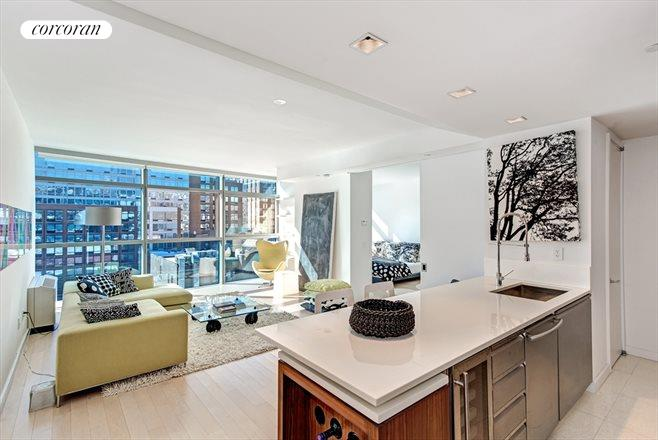 447 West 18th Street, 8B, Living Room