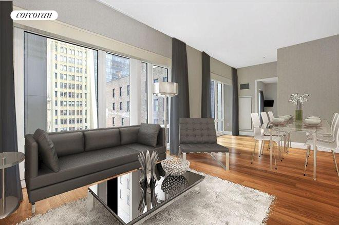 33 West 56th Street, 7E, Living Room
