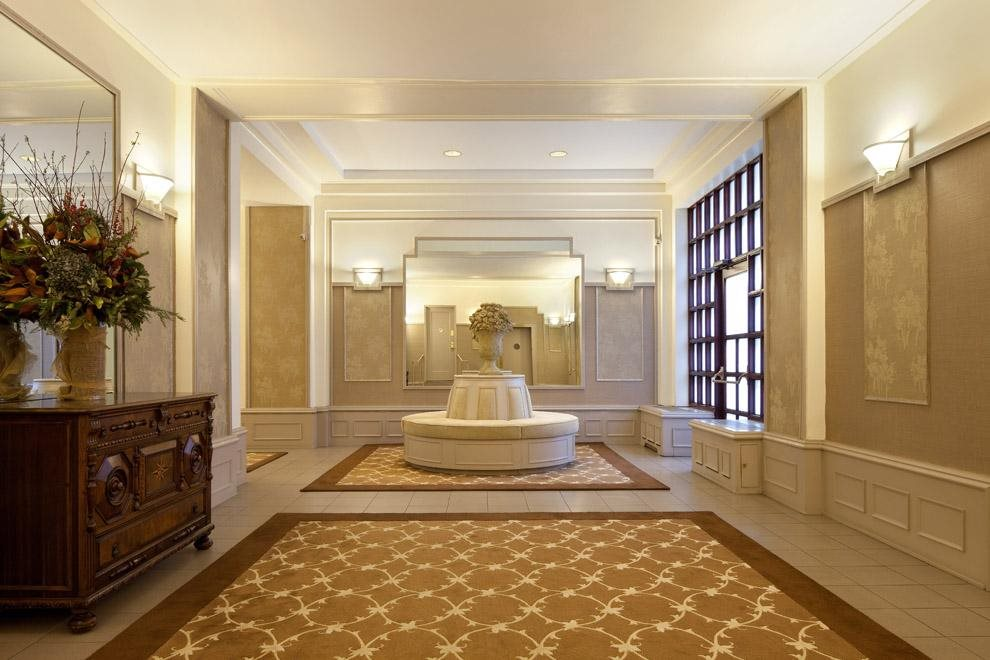 Spacious remodeled lobby.