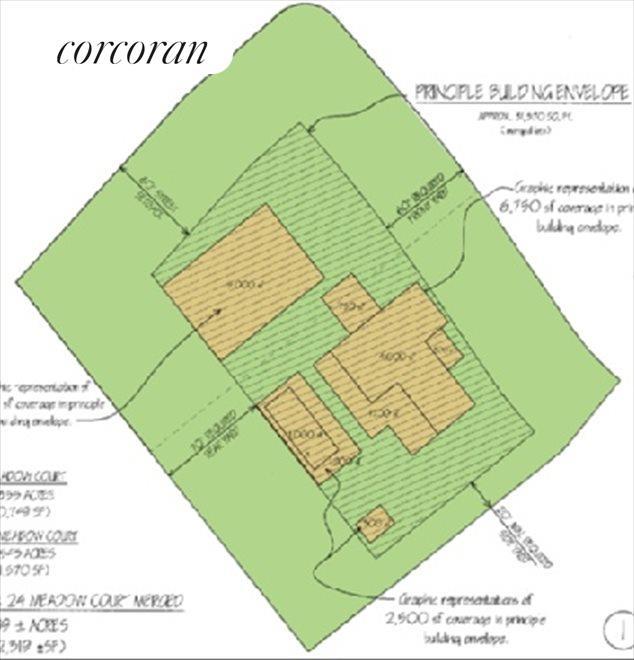 Merged Lots Site Plan