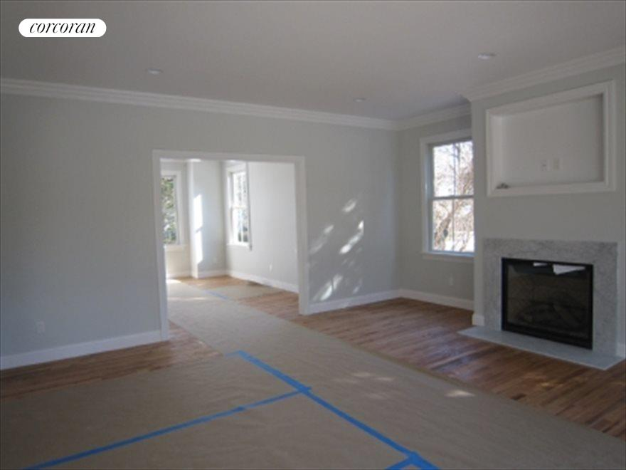Living room into Dining
