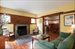 30 Winterberry Lane, Living room with fireplace and views to dining room