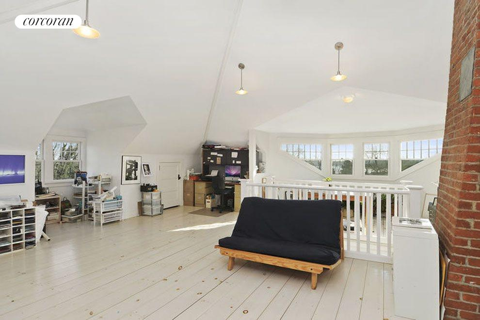 Third Floor Attic with waterviews