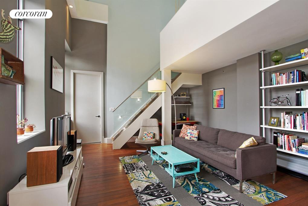 50 Bayard Street, 1M, Living Room